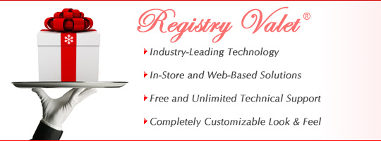 Gift Registry Software - Registry Valet