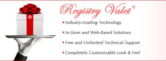 Gift Registry Software - Registry Valet
